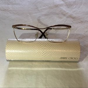 JIMMY CHOO | glasses and case